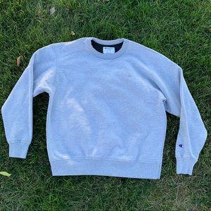 Gray Champion Crewneck Sweatshirt